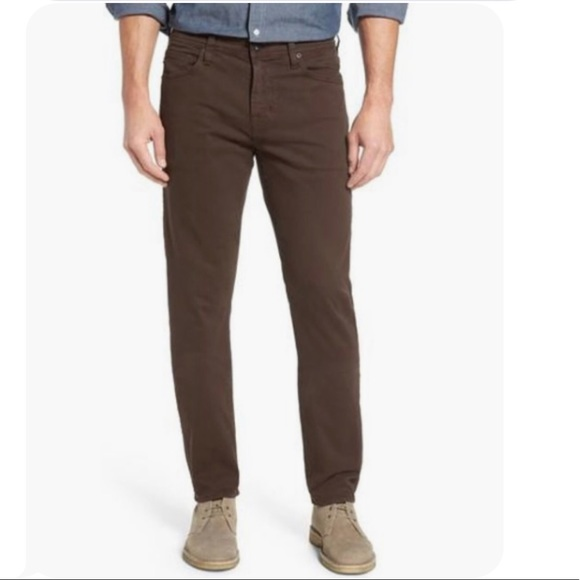 AG Adriano Goldschmied Mens Everett Slim Straight Sud Pant